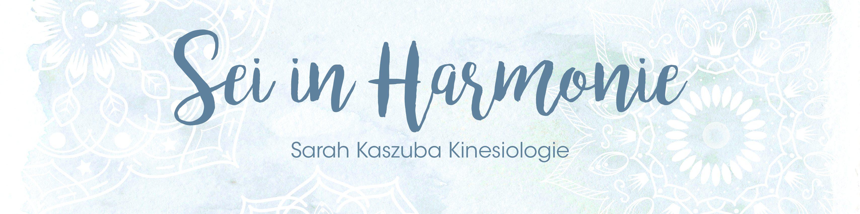 Sei in Harmonie  – mit Kinesiologie in deiner Mitte
